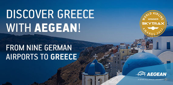 Discover Greece with Aegean