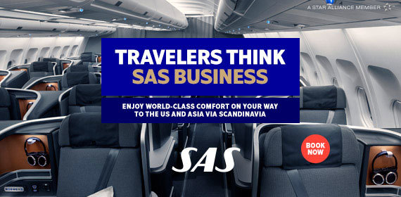 Travelers think SAS Business